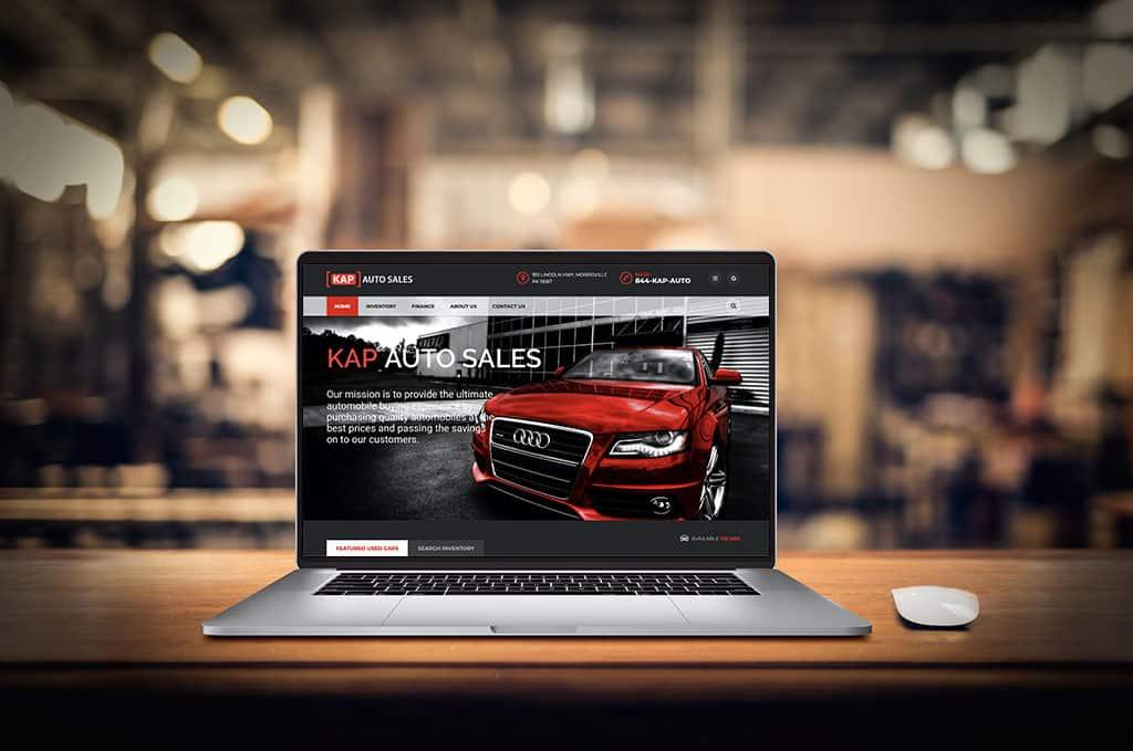 Website Design for used car dealership